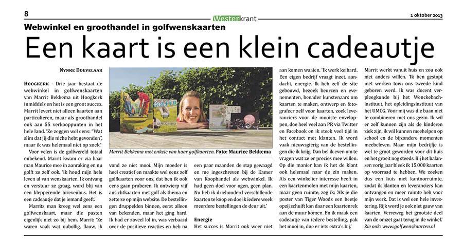 Westerkrant_Golfwenskaarten